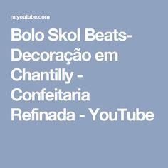 Bolo Skol Beats- Decoração em Chantilly - Confeitaria Refinada - YouTube