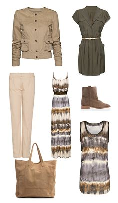 Safari style: look the part! Safari Outfit Women, Safari Outfits, Safari Clothes, Safari Dress, Stylish Outfits, Cool Outfits, Summer Outfits, Vestidos Safari, Mango Looks