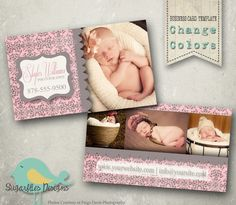 Photography Business Card Templates - Business Card 11. $8.00, via Etsy.