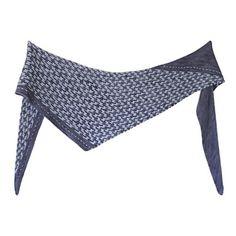 Ravelry: Navigator pattern by Meg Gadsbey Stitch Patterns, Knitting Patterns, One Color, Ravelry, Mosaic, Colours, Yarns, Triangle, Create