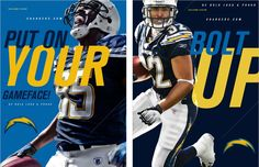 San Diego Chargers / Brand Advertising & Design by BASIC