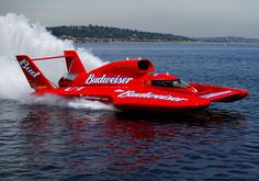 """MISS BUDWEISER"" (U-1) Jet Turbine Powered Unlimited (H1) Class Hydroplane (1)"