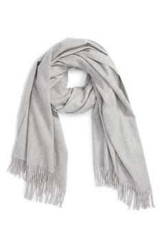 Main Image - Nordstrom Collection Oversize Cashmere Wrap