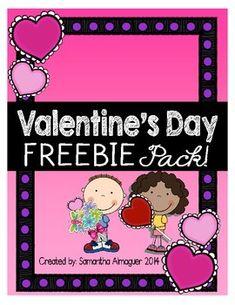 Valentine's Day FREEBIE Pack! {Grades 1-3}