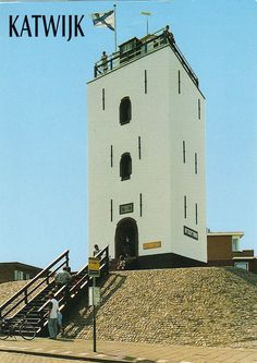 Lighthouse Katwijk Netherlands postcard - available by paflip25, via Flickr