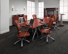 Beautiful and diverse solutions for your conference room, your small meeting space and more, from HST Corporate Interiors.