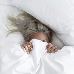 Image de girl, hair, and white
