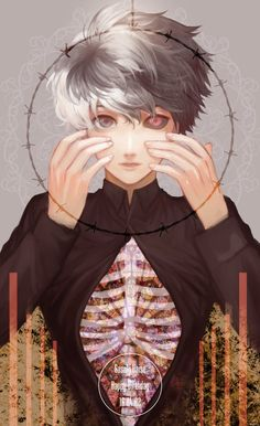 """coollanna: """"Haise Sasaki """"by みーる Authorized Reprint ✔ Do not remove source Please like on Twitter! """" """""""