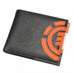 ELEMENT Loyalist wallet black orange portefeuille 30,00 € #wallet #skate #skateboard #skateboarding #streetshop #skateshop @playskateshop