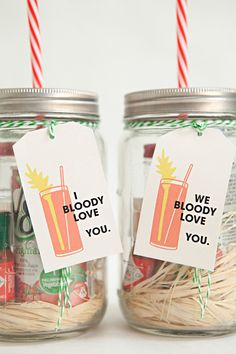 Mason Jar Bloody Mary Gift and spice mix!