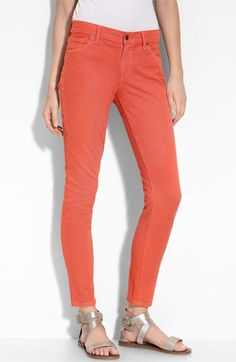Citizens of Humanity Overdyed Skinny Leg Jeans (Mango Tango Wash)