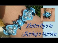 Butterfly's in Spring's Garden Bracelet Beading Tutorial by HoneyBeads