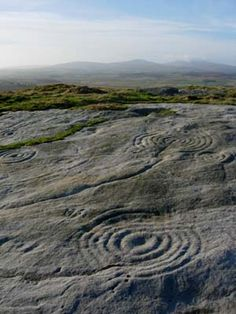 Northumberland Rock Art, UK circa 5000 years BC