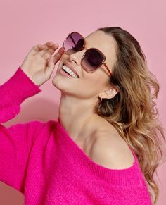 Nice Glasses, Every Girl, Round Sunglasses, Chloe, Model, Clothes, Fashion, Outfits, Moda