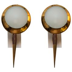 Pair of Stilnovo Wall Lights, circa 1950 For Sale at 1stdibs