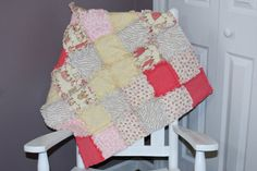 Check out this item in my Etsy shop https://www.etsy.com/listing/208414486/baby-clothes-line-flannel-rag-blanket