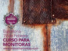 Últimas plazas para el curso Intensivo #CADENCE #BARCELONA dirigido a monitoras y profesionales de las manualidades y las Bellas Artes. Pasa un día completo realizado 4 trabajos diferentes con los que aprender a usar los distintos materiales, técnicas y pinturas CADENCE marca distribuida en España por Artesanías Montejo.