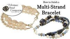 Elastic Beaded jewelry - YouTube