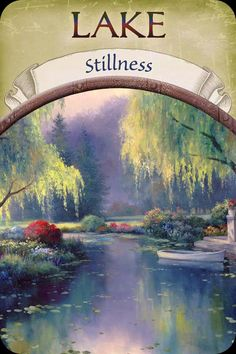 Lake. - stillness