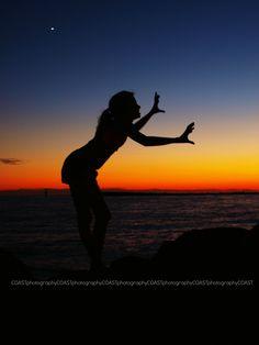 Late Summer Sunset East Jetty, East Pass, Holiday Isle Emerald Coast, Destin, Florida  #Destin