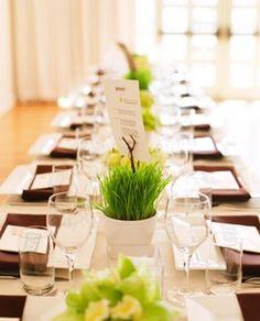 spring fresh table decor