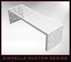 Here are some of our laser cut products. Follow this link to view our full catalogue. Benches: http://bit.ly/1Exs8Pn Planters: http://bit.ly/1vOuRyW