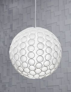 Paper Cup Pendant Light Shade : Image 1 of 1