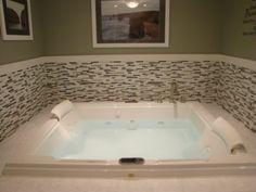 two person jacuzzi bath tub