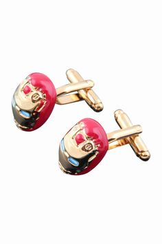 Ironman Cufflinks For Men. Free 3-7 days expedited shipping to U.S. Free first class word wide shipping. Customer service: help@moooh.net