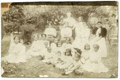 Baptist Sunday School group in Amherstburg, Ontario, [ca. 1910] Alvin D. McCurdy fonds  Reference Code: F 2076-16-5-1-38 Archives of Ontario, I0027813