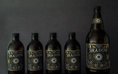 Shadow Beer (Student Project) on Packaging of the World - Creative Package Design Gallery