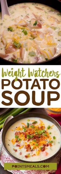 #weight_watchers Potato Soup #soup #potato