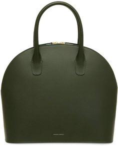 51a93efd315e Mansur Gavriel Calf Top Handle Rounded Bag Round Bag