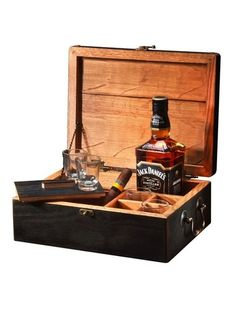 """for the Southern Gentleman~   from Heritage Handcrafted, the personalized """"Celebration Box"""" Note: line w/burlap or faux brown leather"""