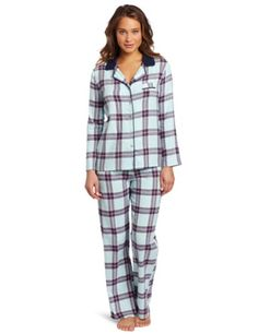 Bottoms Out Women's Flannel Pajama Set #flannelpajamasforwomen ...