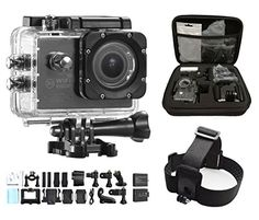 dOvOb SJ7000 WiFi 14MP 1080P HD Waterproof Sport Action Camera with 2 Batteries  Head Strap Mount and Free Accessories * Check out the image by visiting the link. This is Amazon affiliate link.