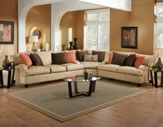 Mia Fabric Sectional