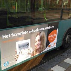 Daar rijdt collega Marileen voorbij. #FavEbook