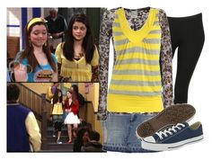 """Selena Gomez as Alex Russo"" by jc10 ❤ liked on Polyvore featuring Disney, Forever 21, G.Girl, Wet Seal, Converse, alex russo, wowp, new empolyee, wizards of waverly place and selena gomez"