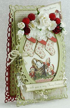 Live & Love Crafts' Inspiration and Challenge Blog: Santa's Coming