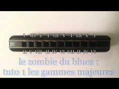 zombie du blues L'harmonica 1 - YouTube