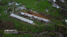 Sobering aerial video shows utter destruction Hurricane Maria brought to Puerto Rico