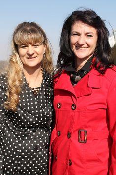 Carolise Jacobs and Amoray Van Niekerk.