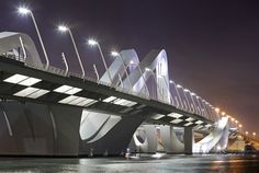 HOW IT'S MADE:SHEIKH ZAYED BRIDGE with stories by Zaha Hadid Architects, Arup and Rogier van der Heide