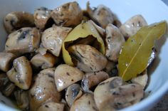 Marinate mushrooms with herbs and spices, cook in the Anova Precision ...