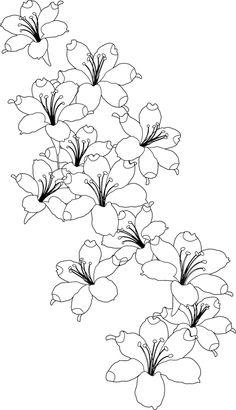 Design Set 2 butterflies/flowers