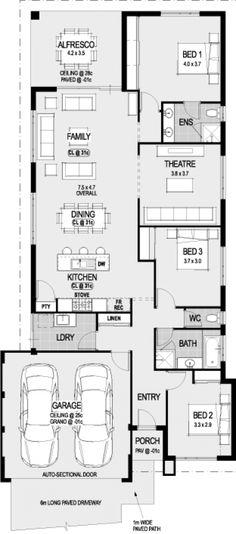The Alassio floorplan
