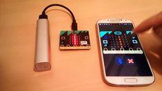 DroidScript Controlling the BBC micro:bit via Bluetooth LE