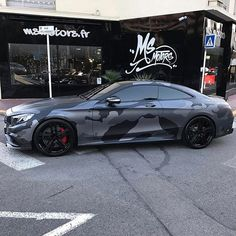 Mercedes S63 AMG Coupe Brabus Spécial Camo  Build by @msmotors - #msmotors