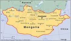Resultado de imagen para mapa politico de mongolia